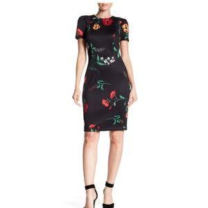 Calvin Klein Floral Dress – Size 2